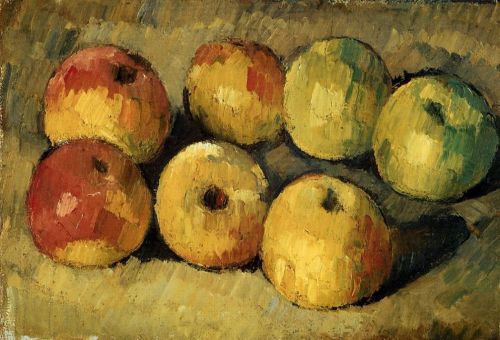 Paul Cezanne, תפוחים, 1877-1878. שמן על בד,  Fitzwilliam Museum, Cambridge, UK