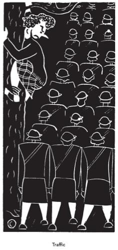 פלאנרי או'קונור, תנועה (Traffic),  1942-1945, via Open Calture