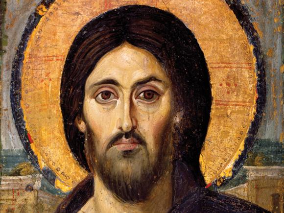 כריסטוס פנטוקרטור (שליט העולם, אל צבאות, הכל יכול), איקונין של הכנסיה האורתודוכסית המזרחית