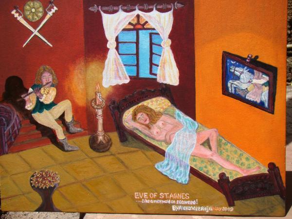 Alexander Raju, Eve of Saint Agnes, 2009. Via finartamerica