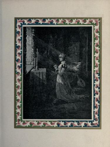 The Eve of St. Agnes, by Charles E. Wentworth, Cambridge University Press, 1885