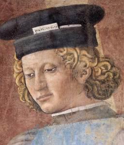 פיירו דלה פרנצ'סקה, עינוי היהודי מתוך אגדת הצלב (פרט, המענה), via casasantapia.com