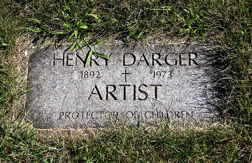 קברו של הנרי דארג'ר: אמן ומגן הילדים, Via Tumbler