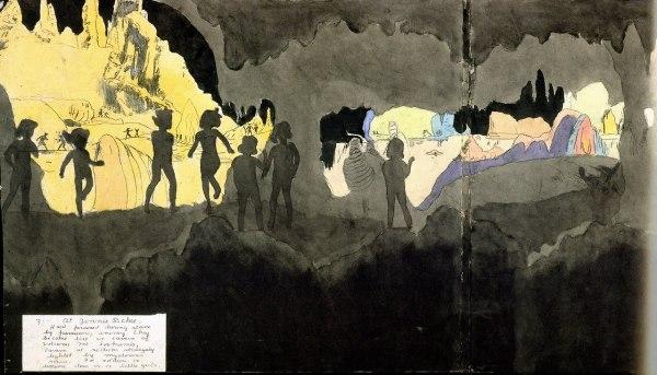 הנרי דארג'ר, ללא כותרת וללא תאריך, מחצית המאה ה-20. Via Tumbler