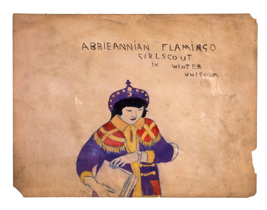 הנרי דארג'ר, סיירת פלמינגו מממלכת אָבִּיאניה, בתלבושת חורפית. מחצית המאה ה-20, Via Tumbler