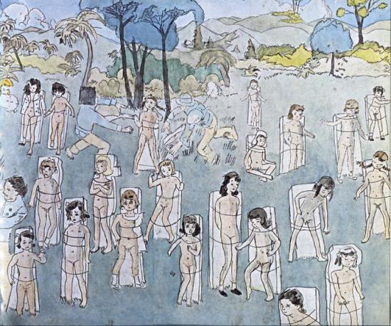 הנרי דארג'ר, ללא כותרת, מחצית המאה ה-20