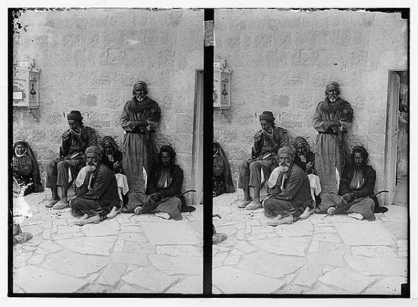 אמריקן קולוני, יהודים, ככל הנראה מתימן, ירושלים בשלהי המאה