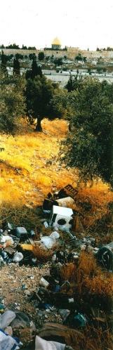 Wim Wenders, מבט על ירושלים מהר הזיתים, 2000.  The Jewish Museum, NY