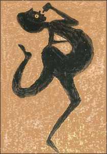 ביל טריילור, ללא כותרת (שתיינית),  בין השנים 1939-1943.  High Museum of Art, Atlanta