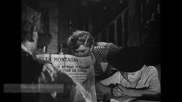"""רנה קלמאן, במאי הסרט, """"משחקים אסורים"""", 1952."""