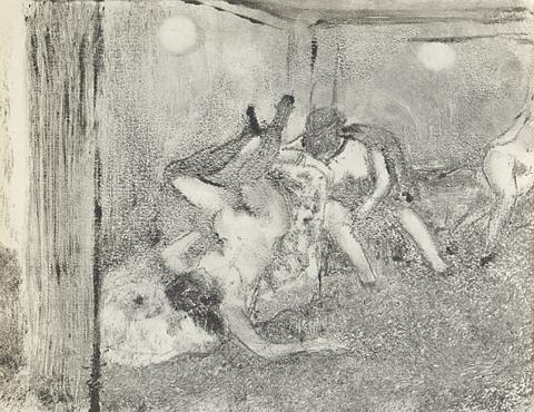 אדגר דגא, מונוטייפ מאוסף Vollard, ללא תאריך,  National Museum of Serbia, Belgrade