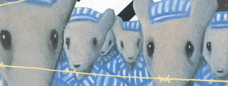 """ארט ספיגלמן, תמונת מקור לרומן הגראפי """"מאוס – סיפורו של ניצול"""", 1986.  Pompidou Centre - Musée national d'art moderne, Paris"""