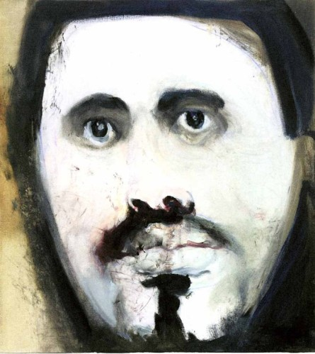 Marlene Dumas, Man Kind, 2006. Oil on canvas, via David Zwirner Gallery, London