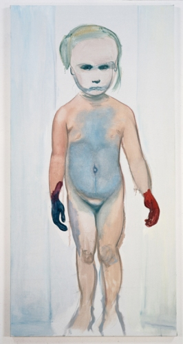 Marlene Dumas, הציירת, 1994. שמן על בד, Museum of Modern Art (MoMA), NYC