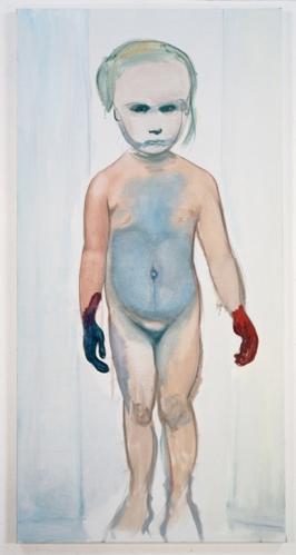 Marlene Dumas, הציירת, 1994. שמן על בד, Museum of Modern Art (MoMA), NYC