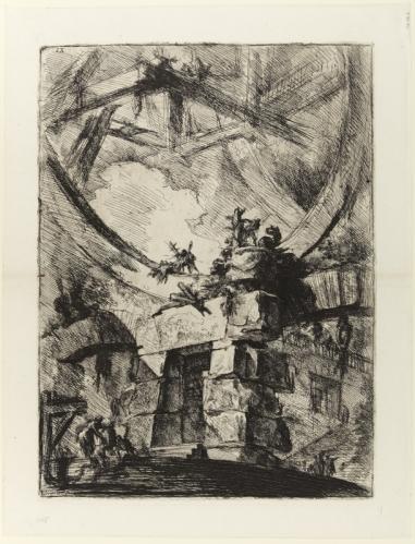 Giovanni Battista Piranesi, הגלגל הענק, מתוך סדרת