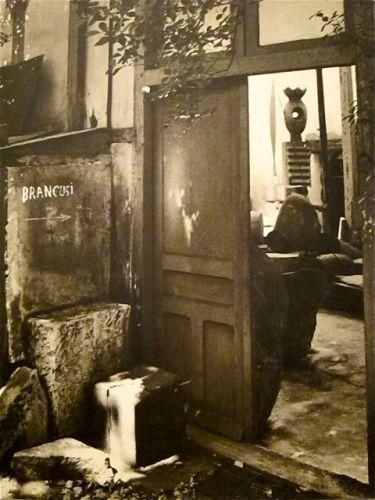 הסטודיו של ברנקוזי בפריס, שנות ה-20 של המאה ה-20