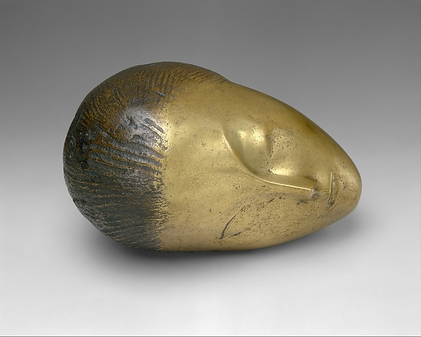 constantin-brancusi-sleeping-muse-1910-bronze-the-metropolitan-museum-of-art-ny