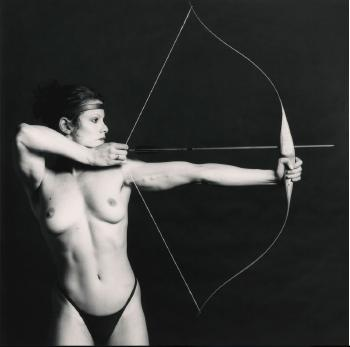 Robert Mapplethorpe, 'BOW AND ARROW` (Lisa Lyon), 1981. Private collection