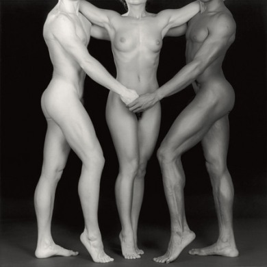 Robert Mapplethorpe, Ken, Lydia, and Tyler. 1985. Via Multimedia Art Museum, Moscow