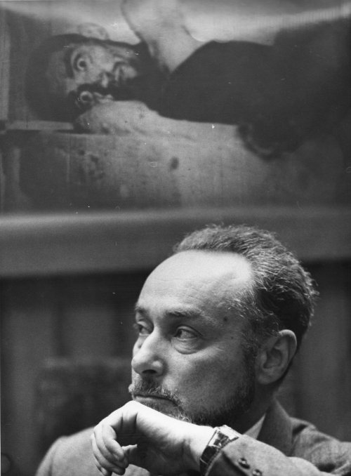 5 gennaio 1975. Copyright La Stampa פרימו לוי