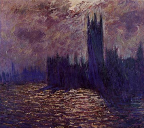 Claude Monet, Houses of Parliament Reflection of the Thames, 1900. Oil on canvas, Musée Marmottan, Paris