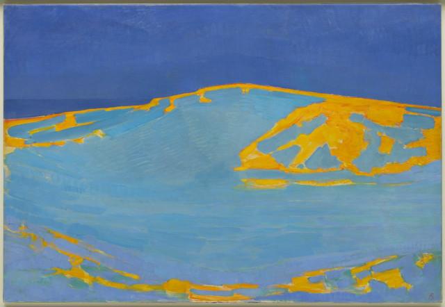 Piet Mondrian, Summer, dune in Zeeland, 1910. Oil-canvas, Gemeente Museum, De Haag