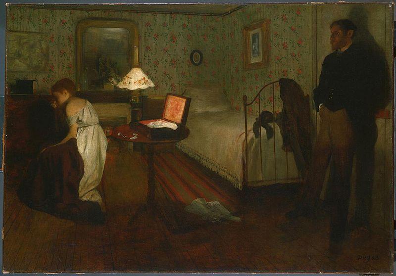 Degas Intérieur Philadelphia Museum of Art