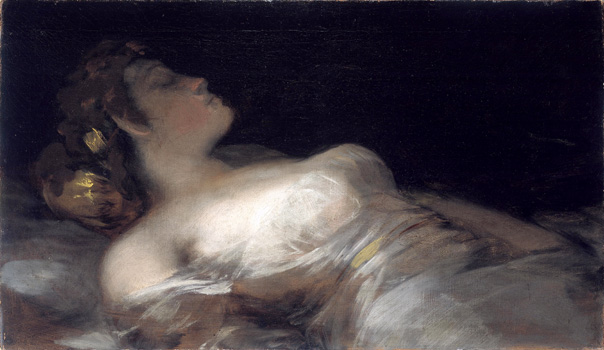 Francisco de Goya, El Sueño, The Dream, 1790-1793. Oil-canvas, National Gallery of Ireland, Dublin
