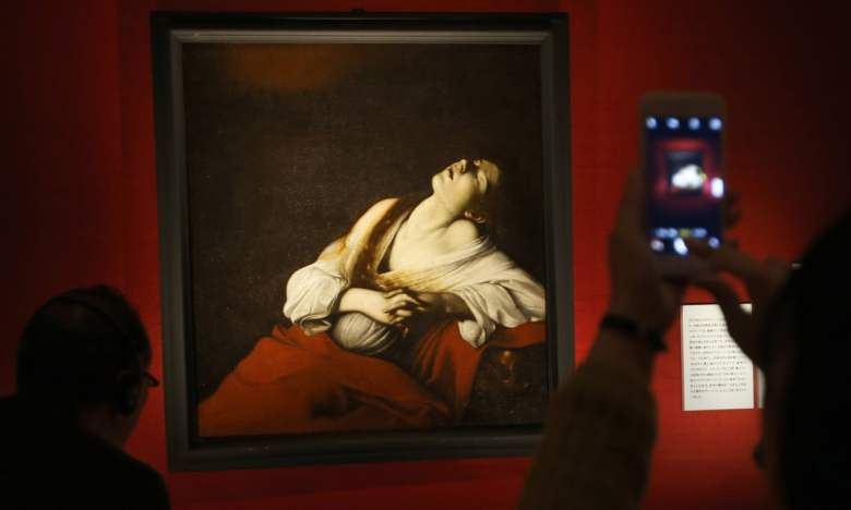 Caravaggio, Mary Magdalene in Ecstasy, 1606. Via the Guardian