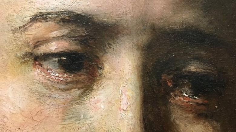 Detail of 'Lucretia' (c.1666) by Rembrandt van Rijn. Minneapolis Institute of Art (2)