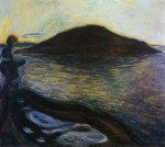 Edvard Munch, The Island, 1900-01. Oil-canvas, privatecollection